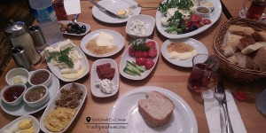 Turkish Breakfast, Van Kahvalti, Istanbul